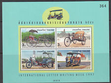 CYCLING:1997 THAILAND International Correspondence Week-tricycles SGMS1978 MNH