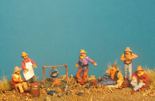 Germania Figuren 72-9506 Old West- Cowboys in Camp