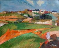 Quality Hand Painted Oil Painting Repro Paul Gauguin Landscape 1890 20x24in