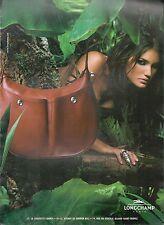 ▬► PUBLICITE ADVERTISING AD SAC à MAIN LONGCHAMP PARIS 2003