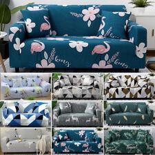 1-4 MONOPOSTO copertura divano TESSUTO ELASTICIZZATO IN SEZIONE AD ANGOLO sedia fodera rimovibile