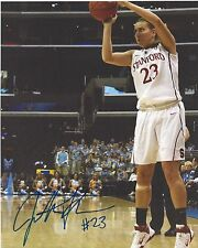 Jeanette Pohlen Signed 8 x 10 Photo Wnba Basketball Indiana Fever Stanford