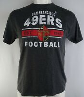 San Francisco 49ers NFL Junk Food Men's Line Gray Short Sleeve T-Shirt