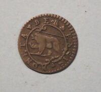 1732 Switzerland Bern Swiss Canton 1/2 Kreuzer World Coin Moneta Bernensis Rare