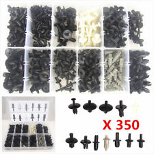 350 New Car Body Plastic Push Pin Rivet Fasteners Trim Moulding Clip Assortments