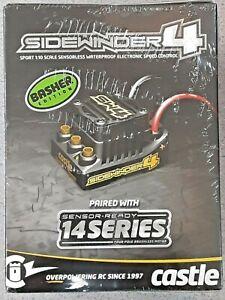 Castle Creations Sidewinder SW4 Waterproof 1/10 ESC/Motor Combo w/1406 5700kV