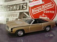 Greenlight KRISPY KREME Motor World 1969 CHEVROLET CAMARO✰Champagne-tan✰LOOSE✰