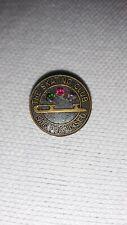 Vintage Skating Club of San Francisco 3 Stone Small Pin