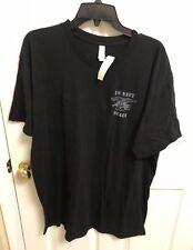 U.S. Navy SEALs Mens 2XL Black T Shirt NSW SEAL USN Psalms 91:3