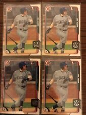 (4) Card Lot 2015 Bowman Ian Happ #28  Rookie RC Chicago Cubs. Hot Hot RC !!!!!