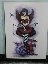 Amy Brown - Ingrid The Monster Tamer - Mini Print