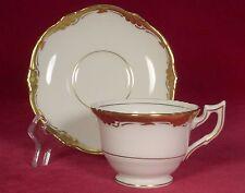 Royal Cauldon Bone China Eden Demitasse Cup & Saucer Set (s) White Gold England