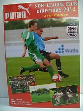Non-League Club Directory: 2012 by Tony Williams Publications (Paperback, 2011)