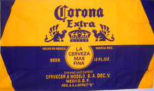 NEW 3X5FT CORONA EXTRA GOLD BEER FLAG SPORTS BAR BANNER