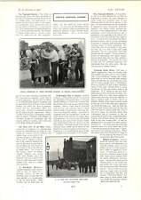 1902 Royal Engineers Making Wheelbarrows Traction Engine Trial