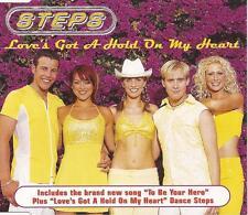 STEPS - Love's Got A Hold On My Heart (UK 3 Tk CD Single Pt 1)