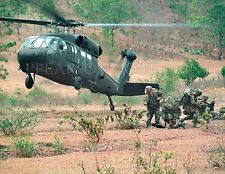 U. S. Army Blackhawk helicopter Honduras photo Choices 5x7 or request 8x10 or .