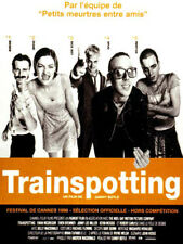 TRAINSPOTTING Affiche Cinéma ORIGINALE / Movie Poster EWAN MC GREGOR DANNY BOYLE