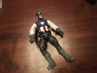 ACTION FIGURE CAPTAIN AMERICA VINTAGE VGC AS PICTURE 4.5""