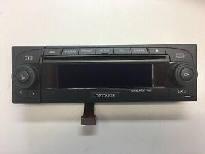 CASCADE PRO Becker Bedienaufsatz BE7941 Control attachment unit NEW faceplate