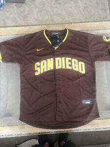 Fernando Tatis JR Jersey NEW Brown Mens Large San Diego Padres
