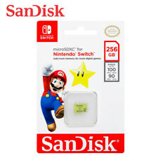 SanDisk 256GB MicroSDXC for【Nintendo SWITCH】UHS-I U3 100MB/s Card + Tracking