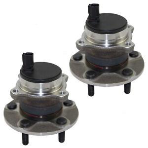 Hubs & Bearings fit Volvo C30 C70 S40 V50 Rear Wheel Assembly Set 31340686-0