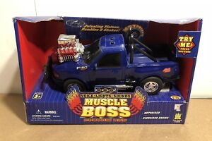 Muscle Boss Motorized Lights Sounds Engine 97-04 Ford F-150 Truck Toy Car 1:16