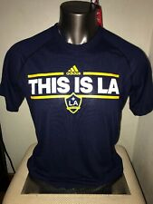 New Adidas Los Angeles Galaxy This Is LA Tee Shirt Ultimate Tee Large