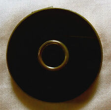Charles of The Ritz Faux Enamel and Goldtone Rouge Compact