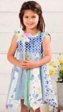 NEW NWT Matilda Jane Seahorse Cutie Dress Sz 2 The Adventure Begins Blue Beach