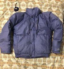 Vintage THE NORTH FACE Men's Goose Down Puffer Jacket Blue Label M Light Purple