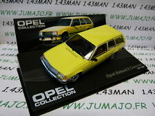 voiture 1/43 IXO eagle moss OPEL collection n°77 : REKORD E break caravan 77/82