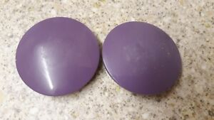 GENUINE DYSON ANIMAL GLAMOUR CAPS/WHEEL COVERS For DC07 DC14 GOOD CONDITION