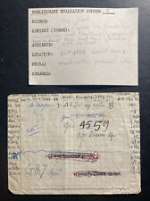 1968 North VietNam Army PO 4520 Cover to Another Soldier APO 4559