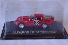 ALFA ROMEO TZ Rolland / Augias 1964 coupe des Alpes RALLY 1/43  ALTAYA/IXO