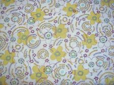 Spring Flowers Petal Blossoms on Timeless Treasures Cotton Fabric By The Yard
