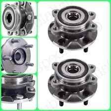 FRONT  WHEEL HUB BEARING ASSEMBLY FOR 2011-2014 SCION TC W/STD TRANS PAIR NEW