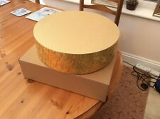 """Gold 12"""" Cake Stand"""