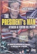 Dvd **THE PRESIDENT'S MAN ♦ ATTACCO AL CENTRO DEL POTERE** con Chuck Norris 2002