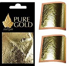 Gold Leaf 24CT  100% Genuine Scrap Gold Sheets - 30 Sheets