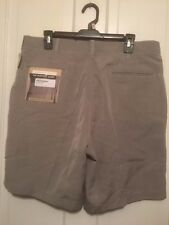 """GEOFFREY BEENE """"THE PERFECT STORM"""" SIZE 36 STYLE G6210004 SILVER SHORTS NWT"""