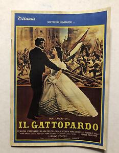 The Leopard (Il Gattopardo) -Movie Restoration Brochure w/ Martin Scorsese