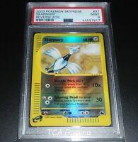 PSA 9 MINT Skarmory 97/144 Skyridge REVERSE HOLO Pokemon Card