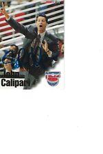 John Calipari Nets Autographed Card