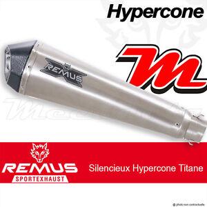 Ligne complète REMUS Hypercone Titane sans cat Yamaha MT-09 Sport Tracker 14+