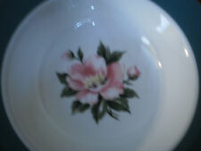 2 HOMER LAUGHLIN  BERRY  BOWLS DECORATED CENTURY SERVICES  EMPIRE GREEN WHITE