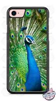 Blue Green Peacock bird Design Phone Case for iPhone Samsung LG Google HTC etc