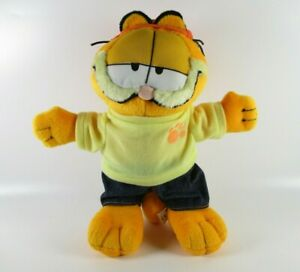"""Garfield Plush Soft Toy Striped Cat Paws Play By Play 11"""""""