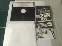VINTAGE ACTION BIKER GAME  FOR COMMODORE 64 128